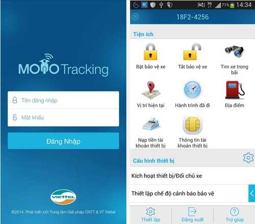 Giao diện app điều khiển smartmotor 3.0