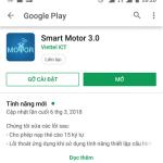 Đăng nhập Smartmotor 3.0 trên điện thoại