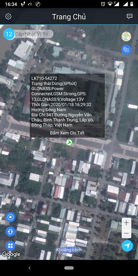 Chuyển sang bản đồ vệ tinh